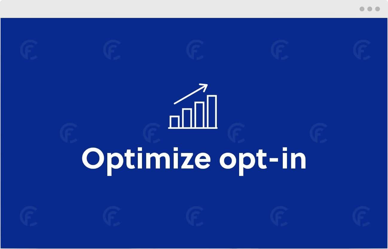 CookieFirst bietet eine Funktion, mit der Sie Ihre Opt-In-Raten für Marketingzwecke optimieren können